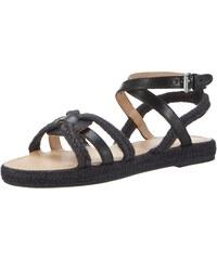 Marc O'Polo 70313981101302 Sandal, Spartiates Femme, Vert (Oliv 415), 39 EU