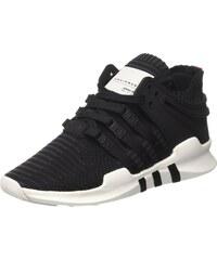 adidas EQT Support ADV Primeknit, Sneakers Basses Mixte Adulte, Noir (Core noir/Core noir/Turbo), 39 1/3 EU