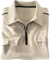Classic Basics Poloshirt mit elastischen Bündchen