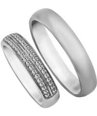 dcb561ac6 Eppi Zlaté svadobné prstene s diamantmi Stasia