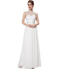 Ever Pretty plesové a společenské šaty bílé eb5d69cfaf