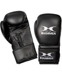 Boxhandschuhe, PU, schwarz-weiß, »Premium Training«, Hammer®