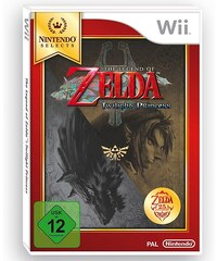 NINTENDO WII Zelda Twilight Princess Nintendo Selects Wii