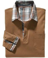 Catamaran Poloshirt mit Knopfleiste und Brusttasche