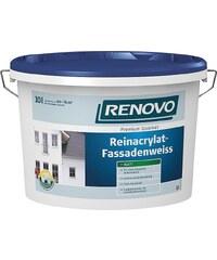 RENOVO Reinacrylat Fassadenweiß, 10 Liter