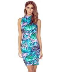 d35c81367afd Dámské květované šaty bez rukávu 022 Morimia 002-2