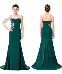 4b1cc1e21dd Zelené šaty s krajkou s dopravou zdarma - Glami.cz