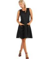 Černé krátké šaty s krajkou s dopravou zdarma - Glami.cz 8e242f2c63