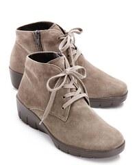 Avena Damen Soft-Stiefelette Select Lammvelours Grau XCz7P