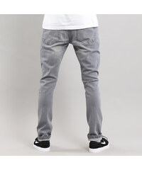 Urban Classics Slim Fit Knee Cut Denim Pant grey a033120ce8