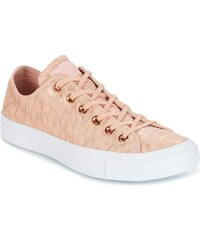 076f8c066503 Converse CHUCK TAYLOR ALL STAR SHIMMER SUEDE OX DUSK PINK/DUSK PINK/WHITE