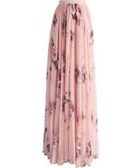 d472f2149a6 CHICWISH Dámská sukně Maxi Oslava růží