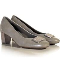 98276ce52ed6 Béžové dámské boty na podpatku Vagabond Jamilla - Glami.cz
