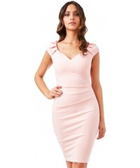 Dámské šaty CityGoddess Luisa meruňkové CityGoddess DR840C 5c68701930