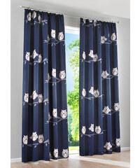 Dunkelblaue gardinen und vorh nge for Verdunkelungsvorhang blau