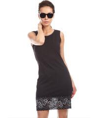 8abf27cabdb Top Elegant Pouzdrové bavlněné šaty - GABI   černá