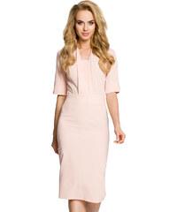 ffa427e02ad Moe růžové elegantní šaty - Glami.cz