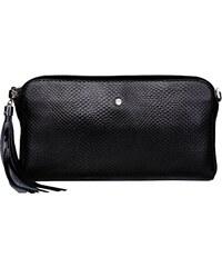 Malá lakovaná kožená kabelka spoločenská crossbody Wojewodzic čierna ... c99c6da3fe4