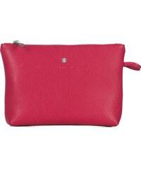 Kožená značková kozmetická taška Wojewodzic ružová 3GD15 CE40 542c268cd02