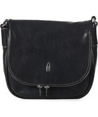 Kožené kabelky crossbody černé 31506 CP01 Wojewodzic 67e61026c0e