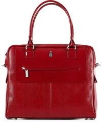 Kožené kabelky na rameno online červené Wojewodzic 31211 PC02 PL102 70e5df3bfd6