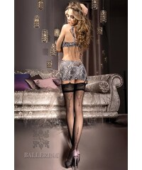 ea450bf7d3f Ballerina Luxusní podvazkové punčochy V collection 241 černá
