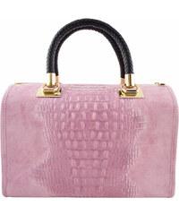 Diva Természetes bőr Rózsaszín Táska cod. S7005-Pink - Glami.hu a87ce41361