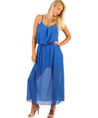 Šifonové šaty s uzkými ramínky - Glami.cz 1d52e6c976