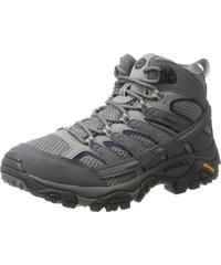 90b44cdf51e0f Merrell Moab 2 Mid Gtx - Chaussures de Randonnée Hautes Homme - Gris  (Castlerock)