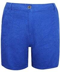 Dovoz Anglie Dámské plátěné modré šortky kraťasy velikost 50 089891efe5
