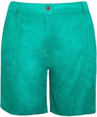 Dovoz Anglie Dámské plátěné zelené šortky kraťasy velikost 50 30db87f166