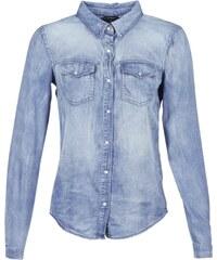 Džínové dámské košile s dlouhým rukávem - Glami.cz 8746bcb256