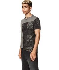 tričko Desigual Eren gris oceano - Glami.sk 199f7f45669