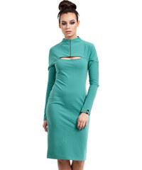 38254cdcf3cf Zelené šaty BE 008