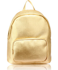 fd361af0e72 L S Fashion Batoh Gold Backpack Rucksack With Bag Charm AG00674 GOLD ...