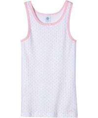 Sanetta Mädchen Unterhemd, gepunktet 332347
