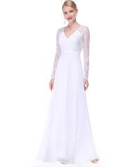 a2238a4f3ad Bílé šaty Ever Pretty plesové šaty dlouhé 8692