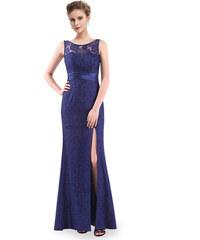 Ever Pretty plesové šaty modré 8949 f4ee8ad23f