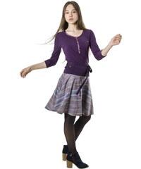 d080974b1fa9 Smash EFFETE krátká sukně fialová s proužky. 779 Kč
