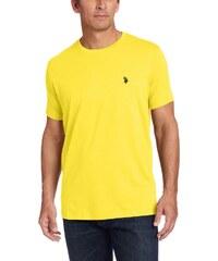 Tričko zo 100% bavlny od U.S. Polo ASSN. (Žlté) e3edfcb07c3