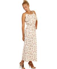 Glara Letní maxi šaty s květinovým vzorem f2f8a21042