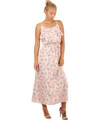 Glara Letné maxi šaty s kvetinovým vzorom 91d1d3ce28d
