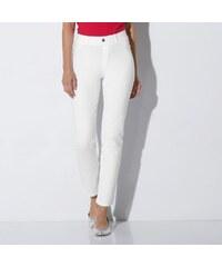 Blancheporte Ultrastrečové úpletové kalhoty bílá bd7058d72d