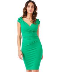 83567a94825 CITYGODDESS Pouzdrové šaty Linie zelené