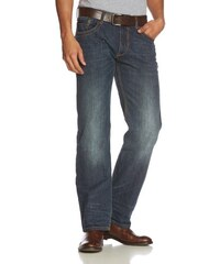 TOM TAILOR Herren Relaxed Jeans Brad tinted wash with belt/412