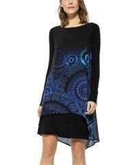 Modré krátké šaty - Glami.cz 024615ad5bc