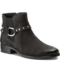 Magasított cipő CAPRICE - 9-25329-29 Black Nubuck 008 0594bea688