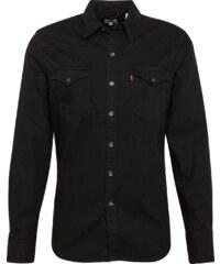 LEVI S Košile  Barstow Western  černá džínovina 4c5f533eda