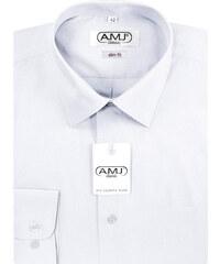Jednobarevné pánské košile slim fit - Glami.cz 715e96932a