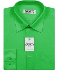 bda4e377079 Pánská košile AMJ Classic - zelená